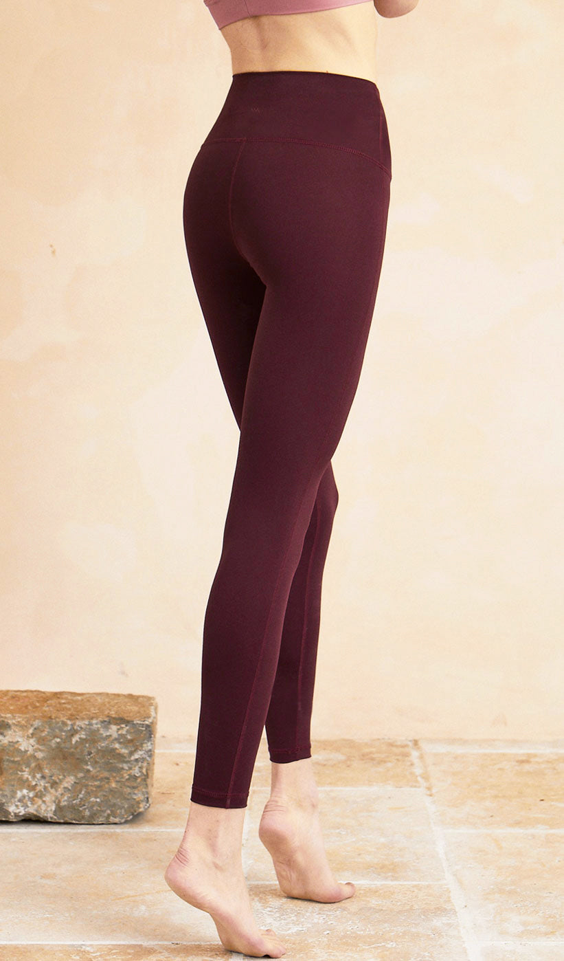 Yoga Pants Anika - Dark Red