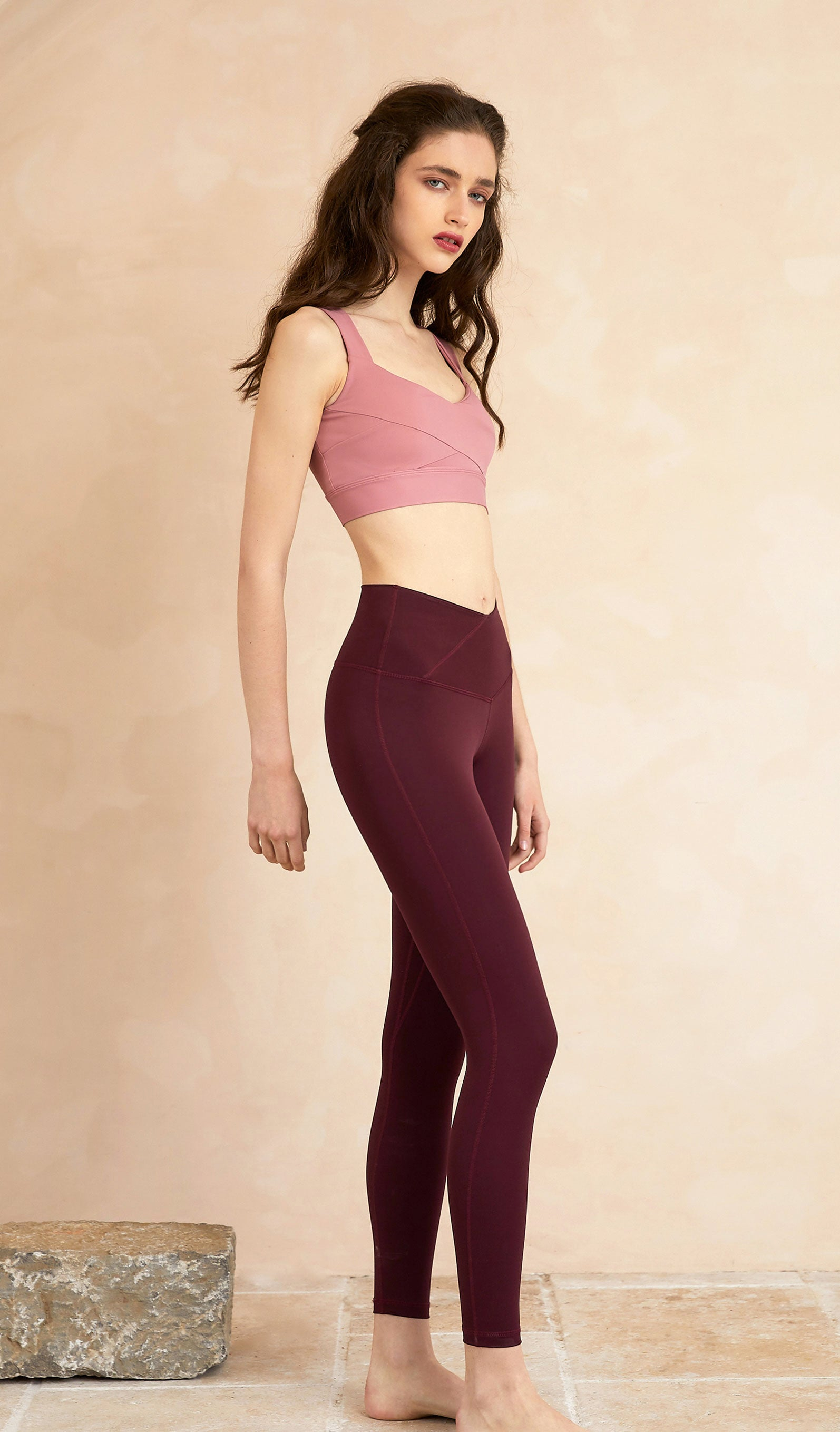 Yoga Top Celia - Light Pink