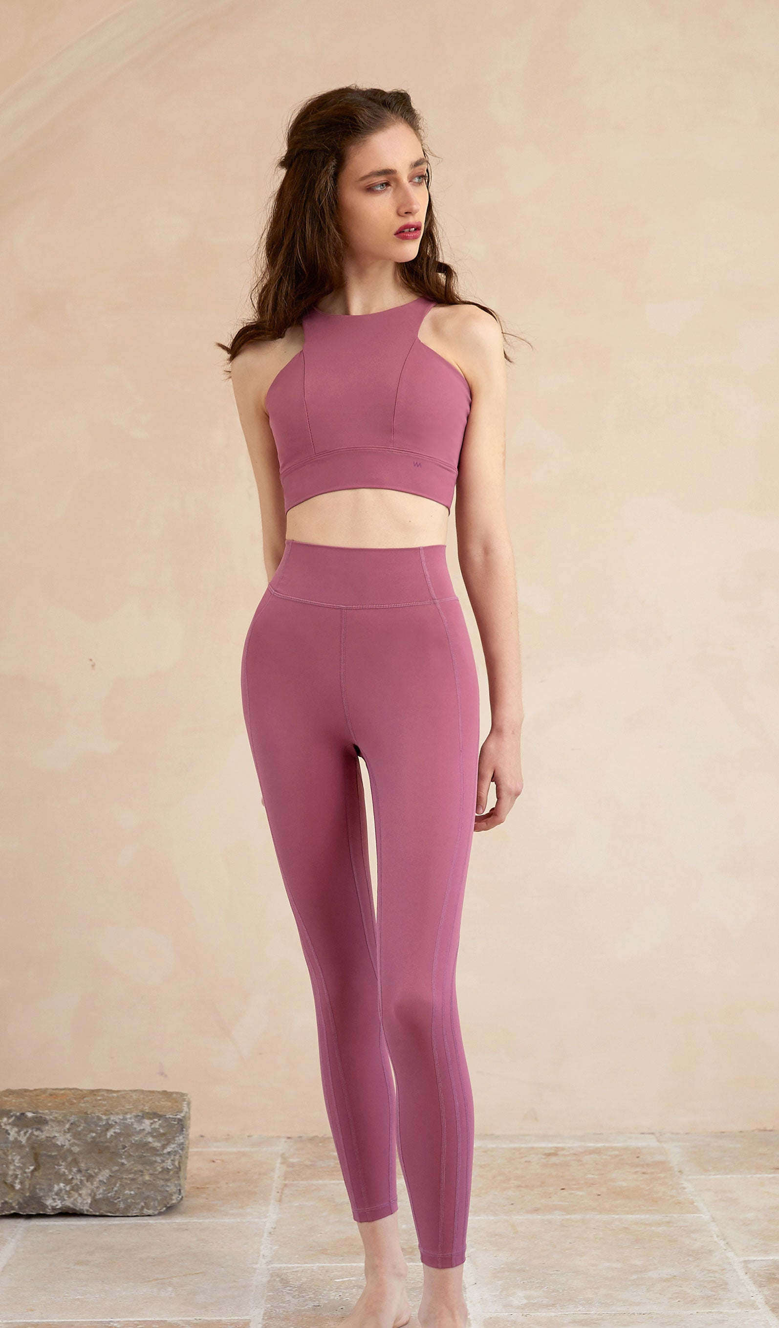Yoga Top Josie - Dark Pink
