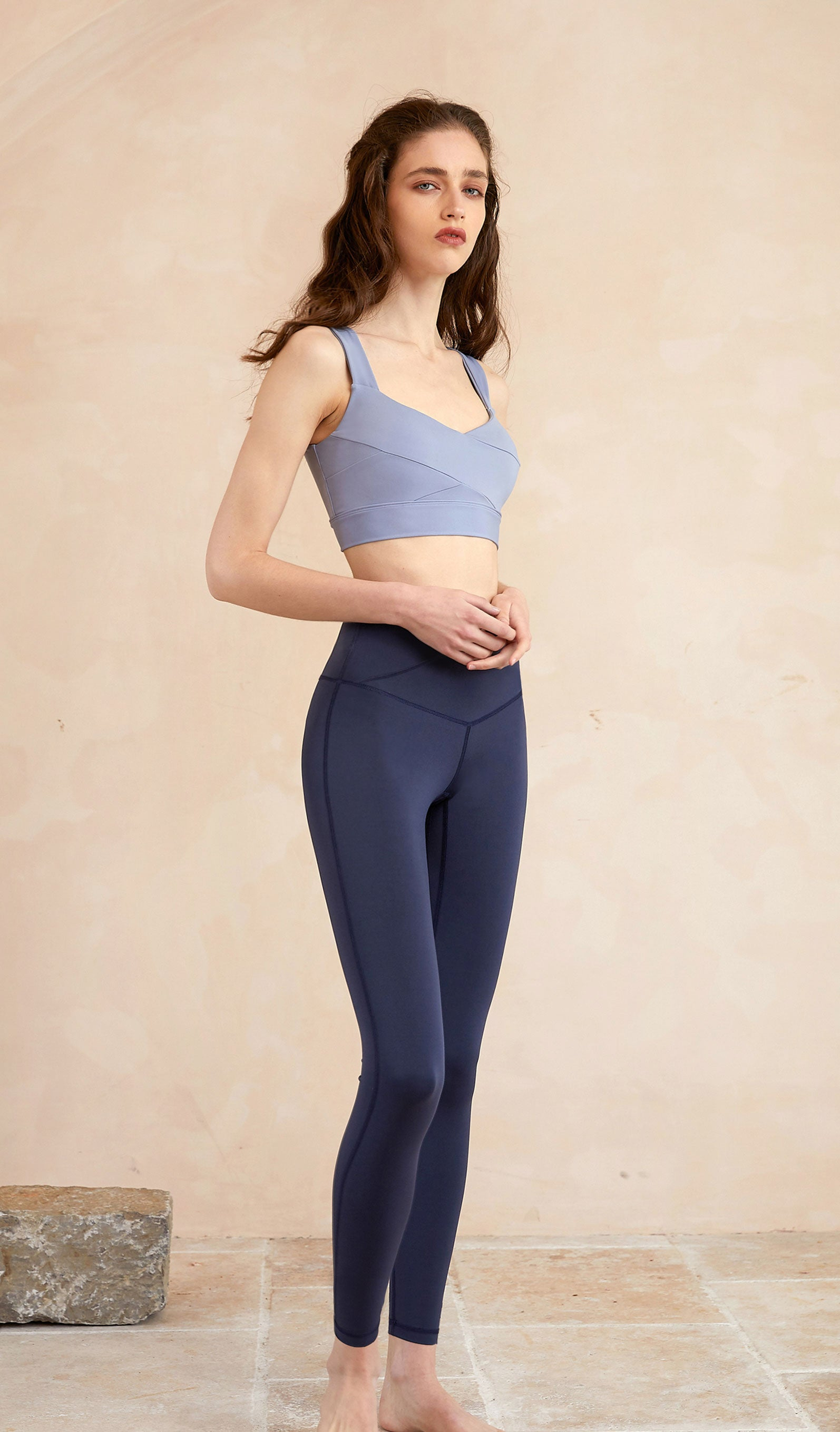 Yoga Top Celia - Light Blue