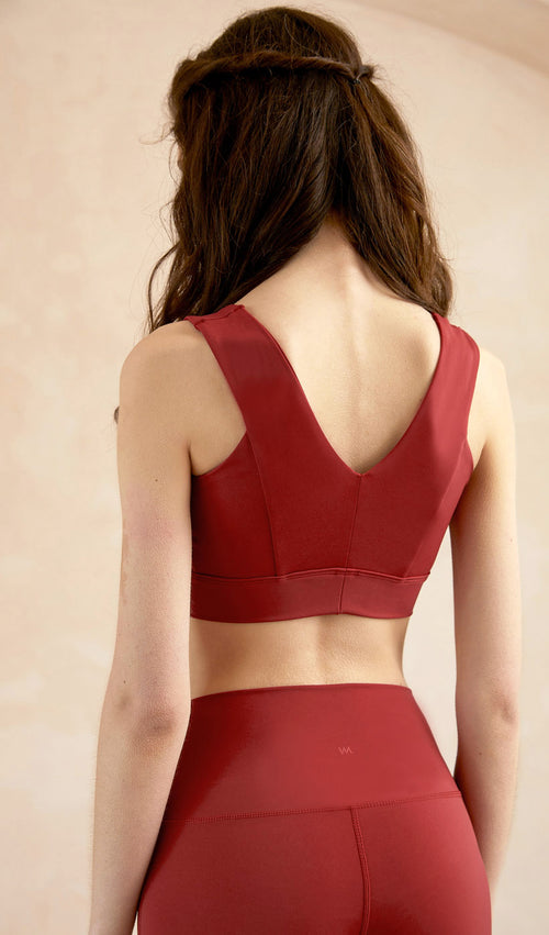 Yoga Top Celia - Red