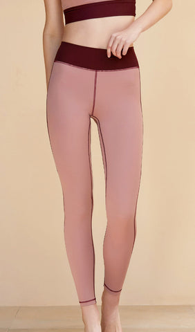 Yoga Pants Anika - Light Purple