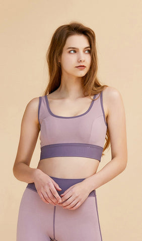 Yoga Top Josie - Light Blue