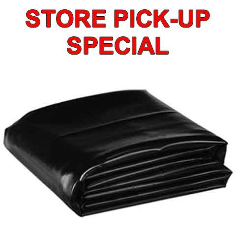 STORE PICK-UP SPECIAL - 15' wide Pond Liner by Firestone PondGard