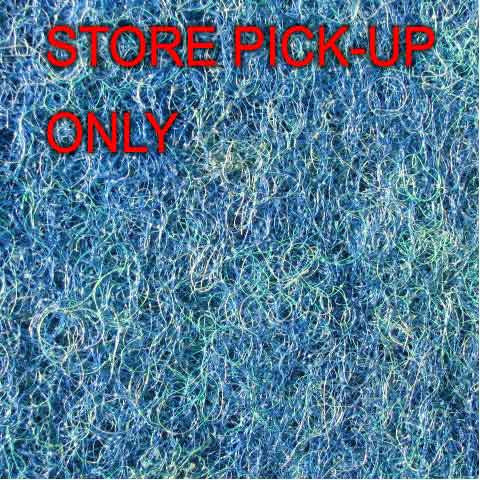 "Blue Filter Mat, ""Store Pick-up only"""