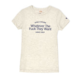 Girls Doing Whatever Since 2017 Tee