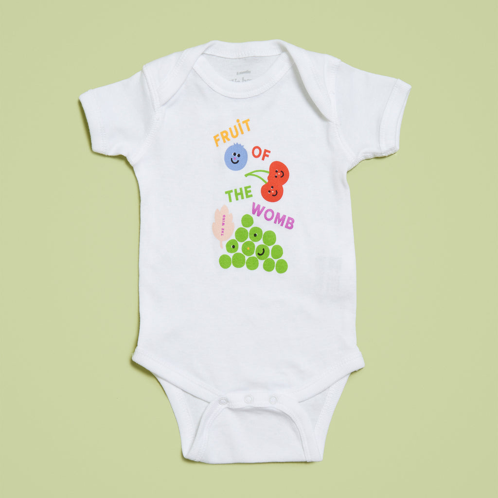 Fruit of the Womb Onesie