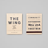 The Wing Manifesto Matches