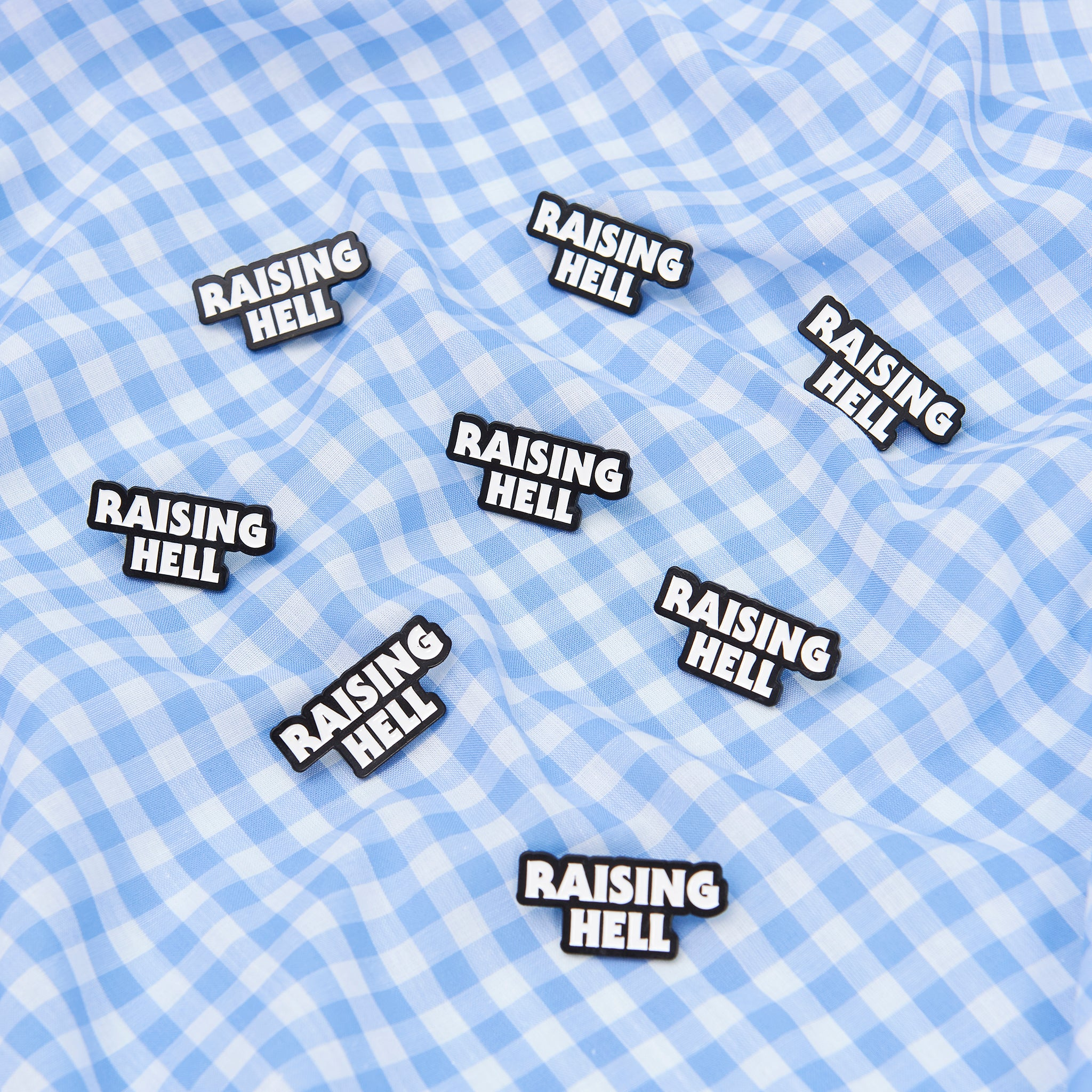 Raising Hell Pin