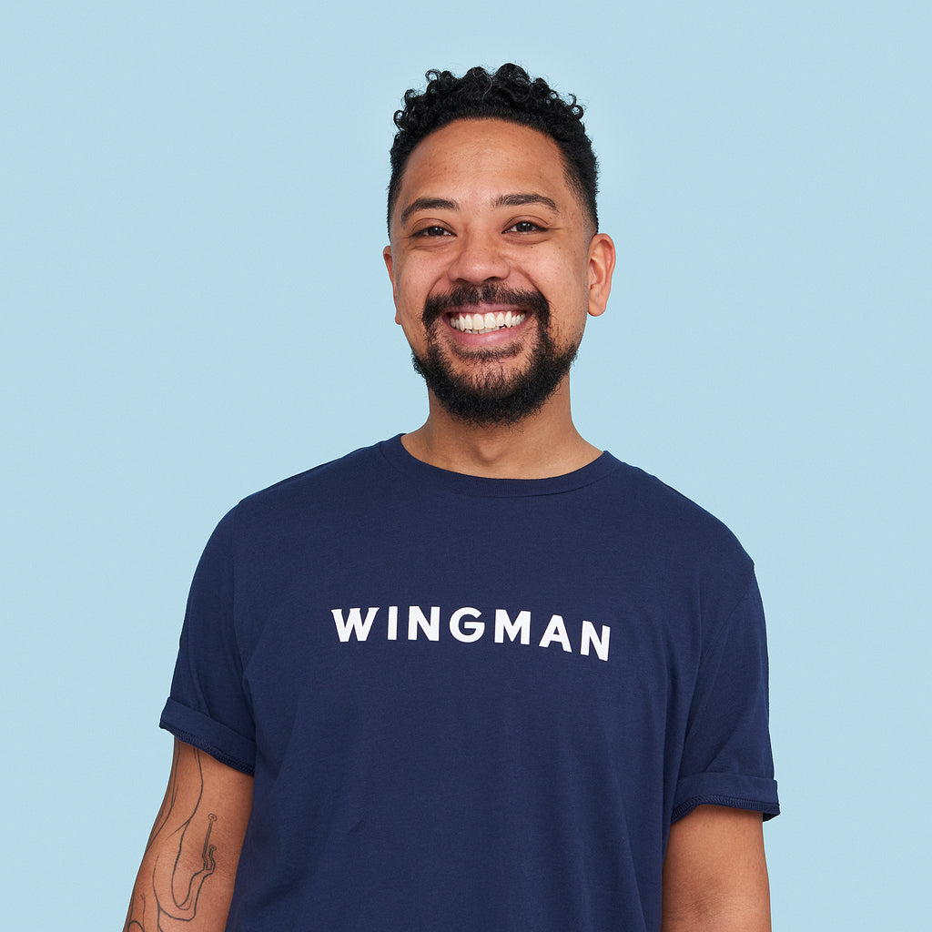 Wingman Tee - Navy
