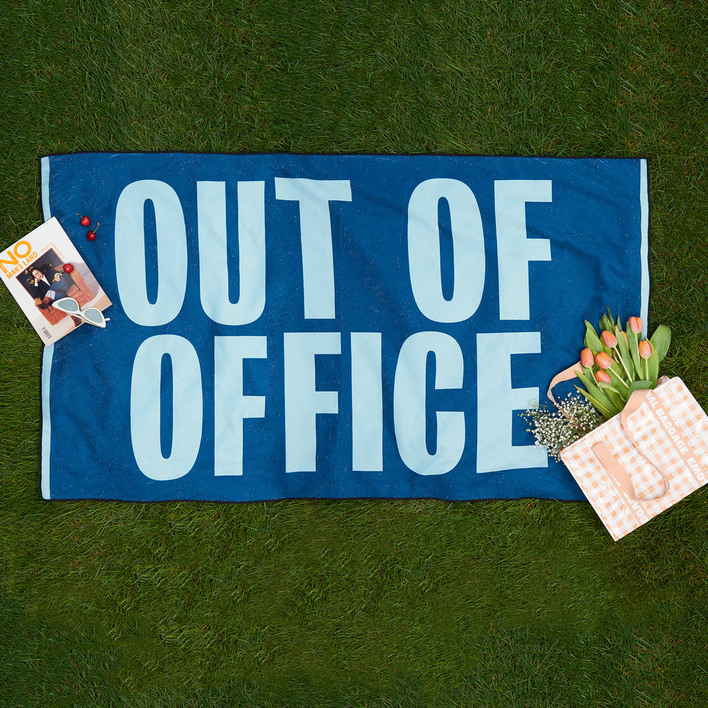 Out of Office Beach Towel