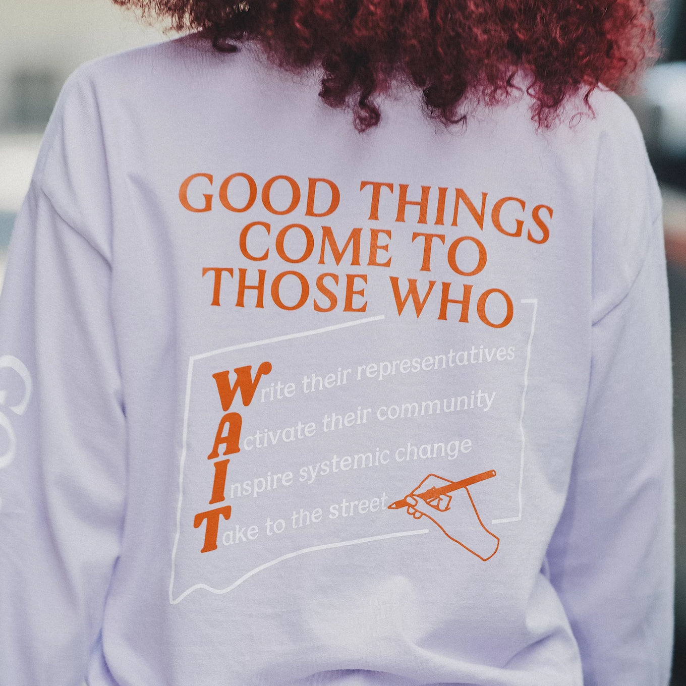 The Wing | Higher Heights - Good Things Long Sleeve Tee