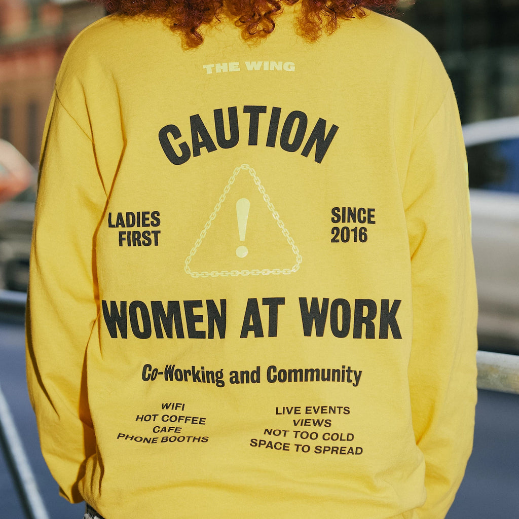 Women At Work Long Sleeve Tee