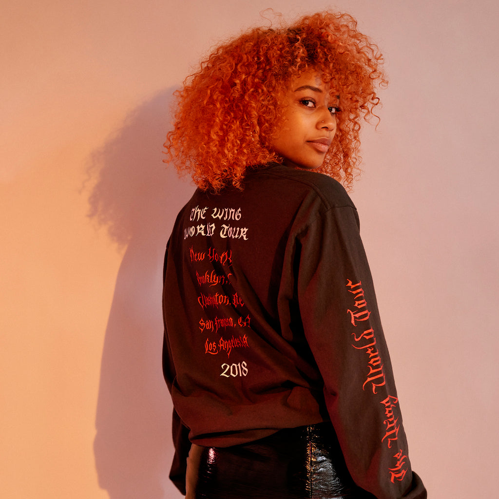Wing World Tour Long-Sleeve Tee