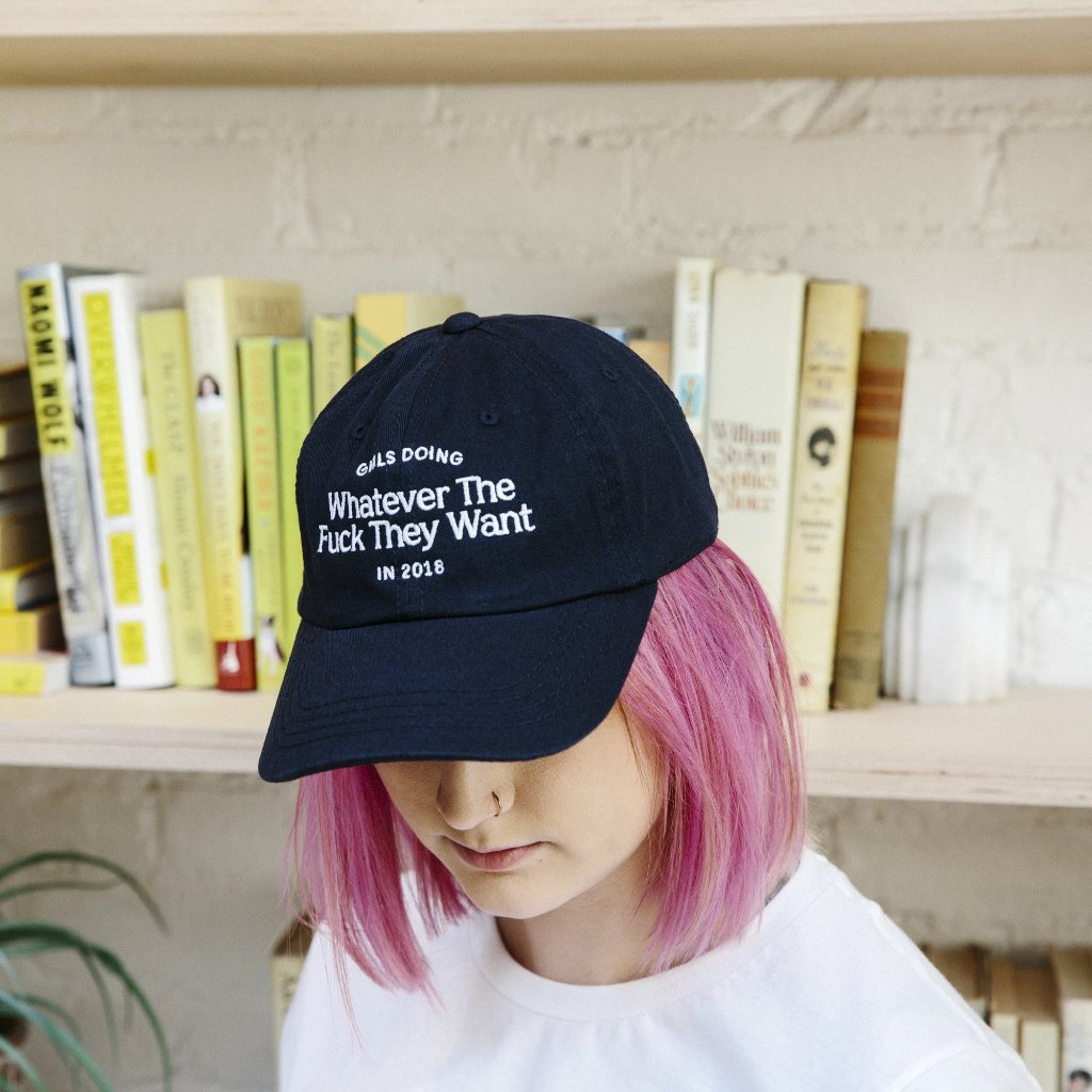 Girls Doing Whatever in 2018 Hat
