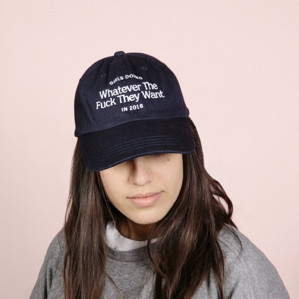 5ea0cd6acc Girls Doing Whatever in 2018 Hat – The Wing Store