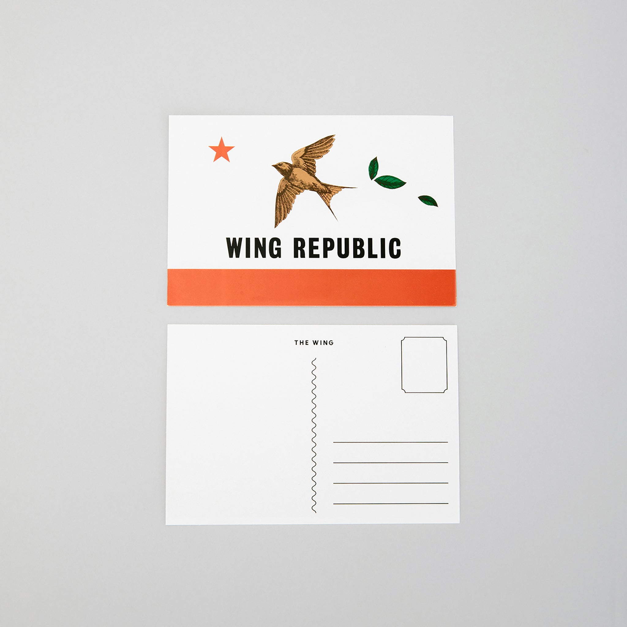 Wing Republic Postcard