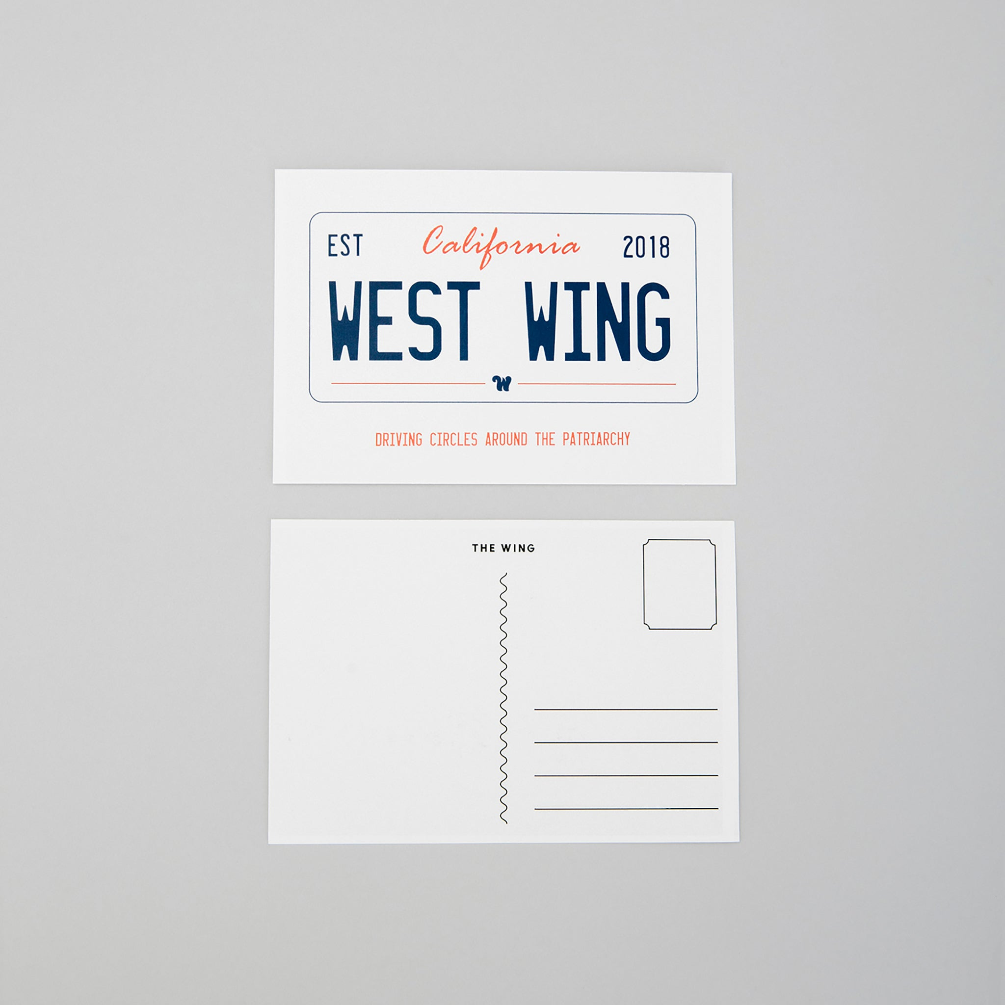 West Wing Postcard