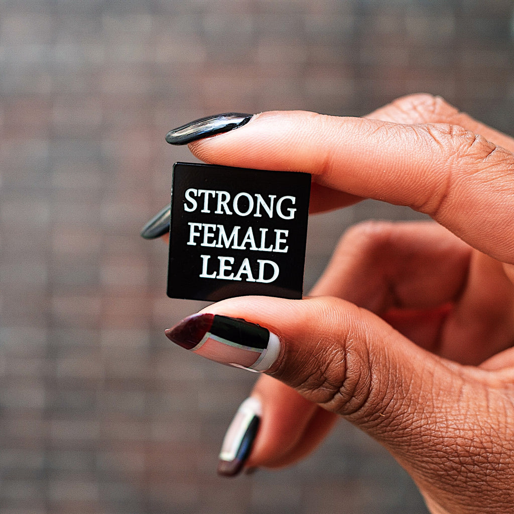 Strong Female Lead Pin