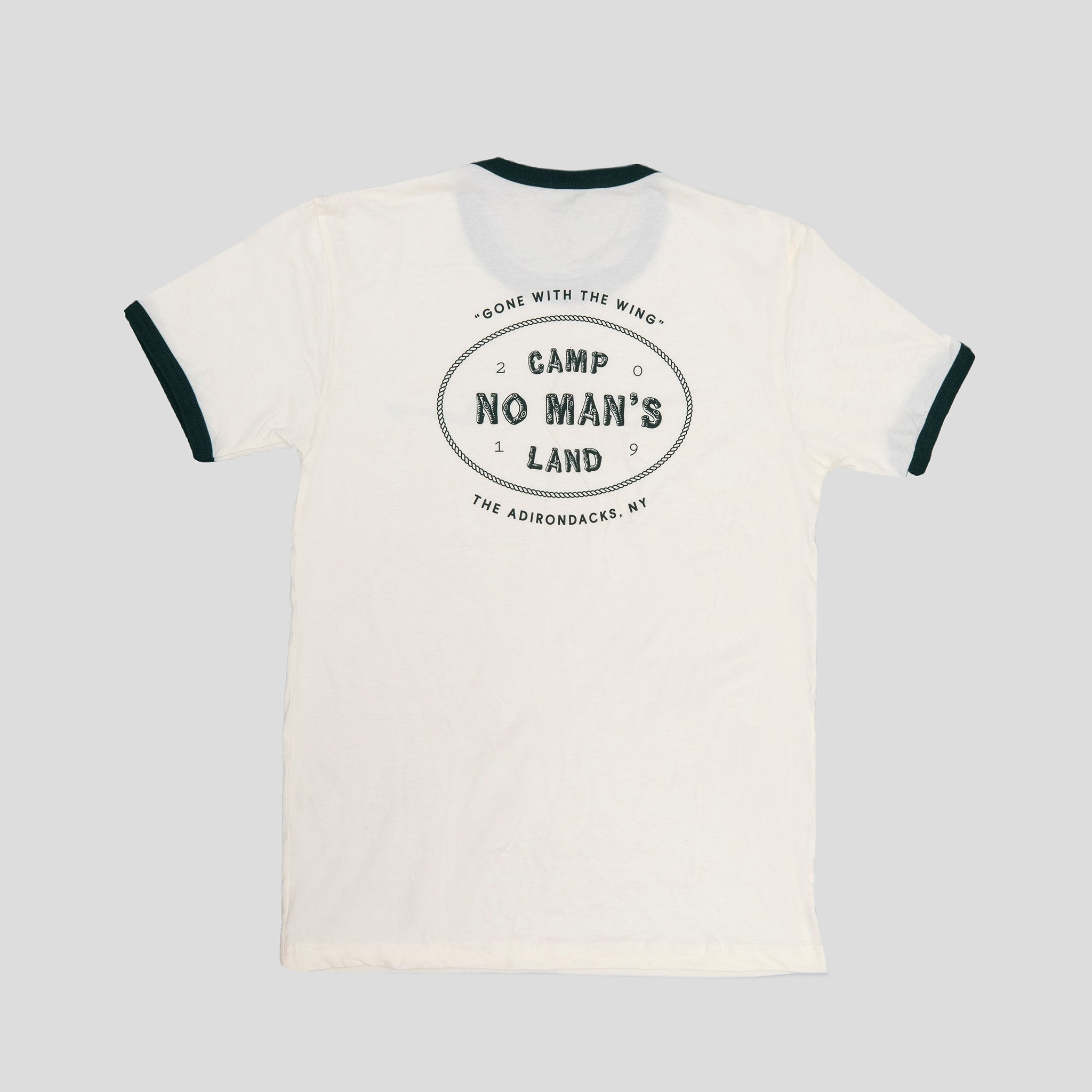 Camp No Man's Land Ringer Tee