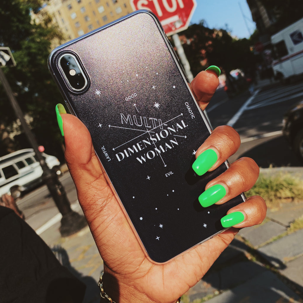 Multidimensional Woman Phone Case