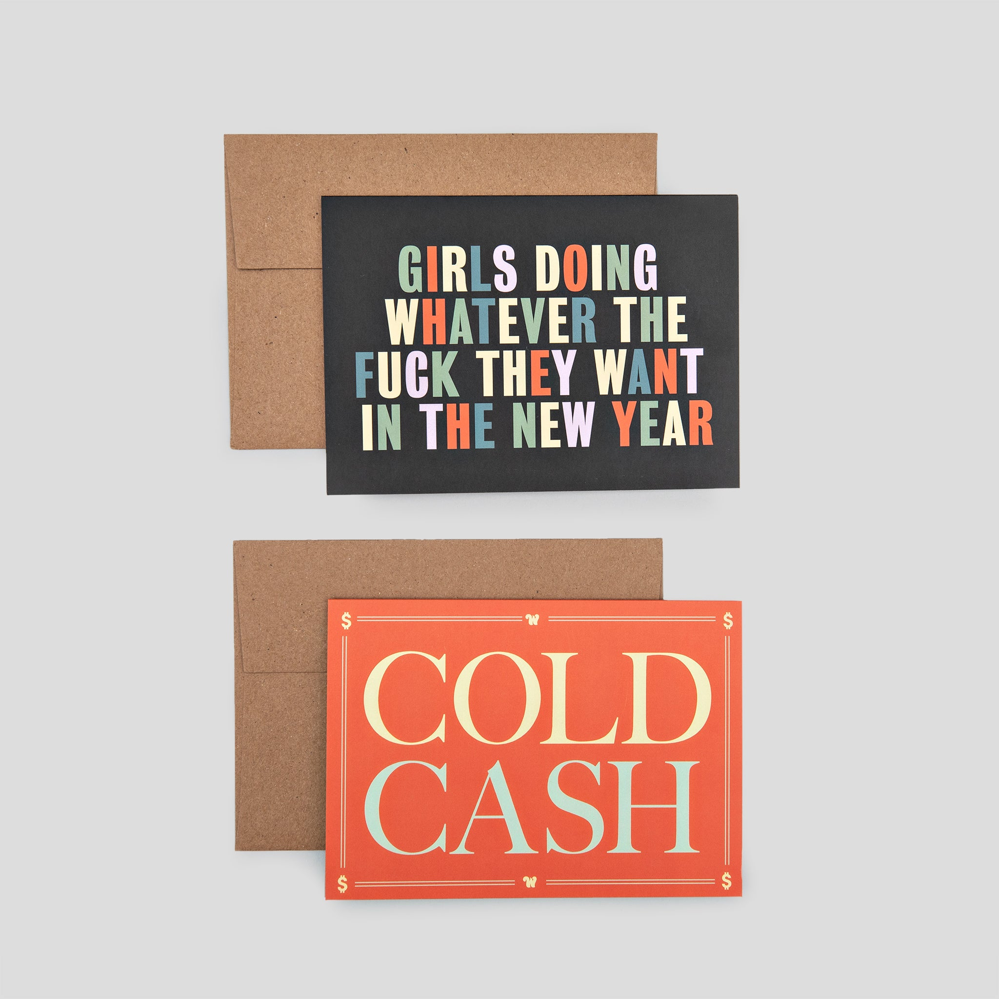 Holiday Greeting Cards (Set of 2)