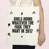 Girls Doing Whatever Tote