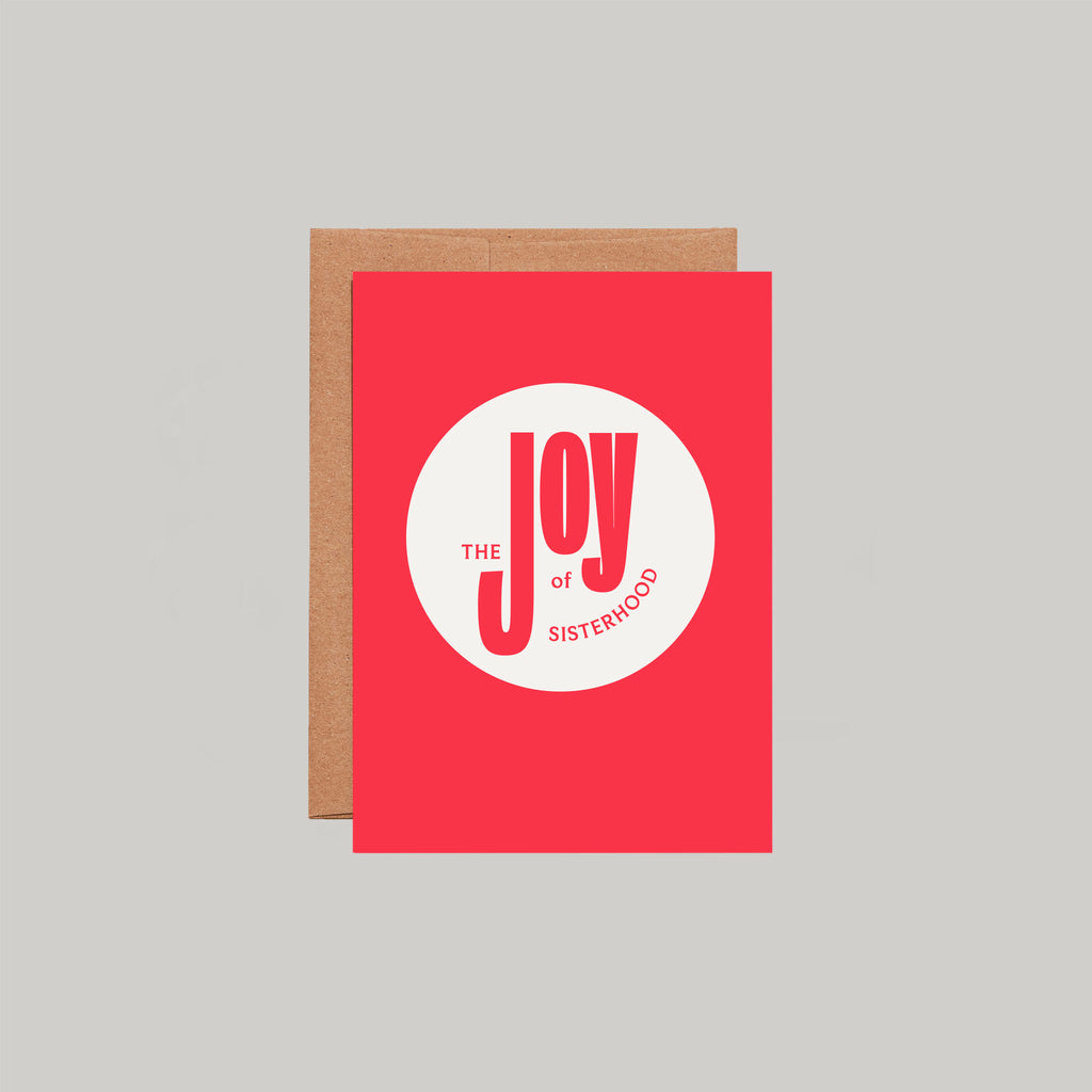 The Joy of Sisterhood Greeting Card