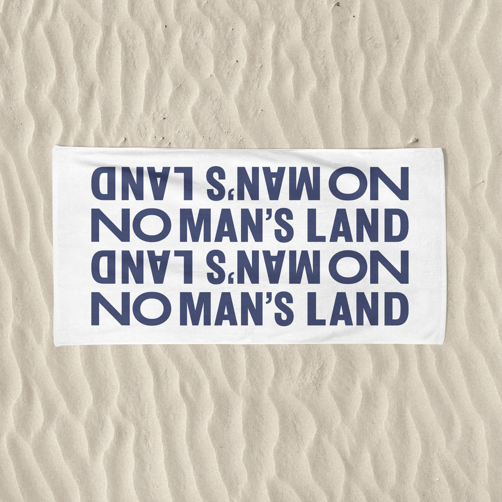 No Man's Land Beach Towel