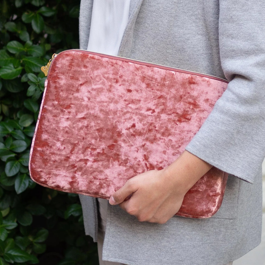 The Wing Velvet Laptop Case