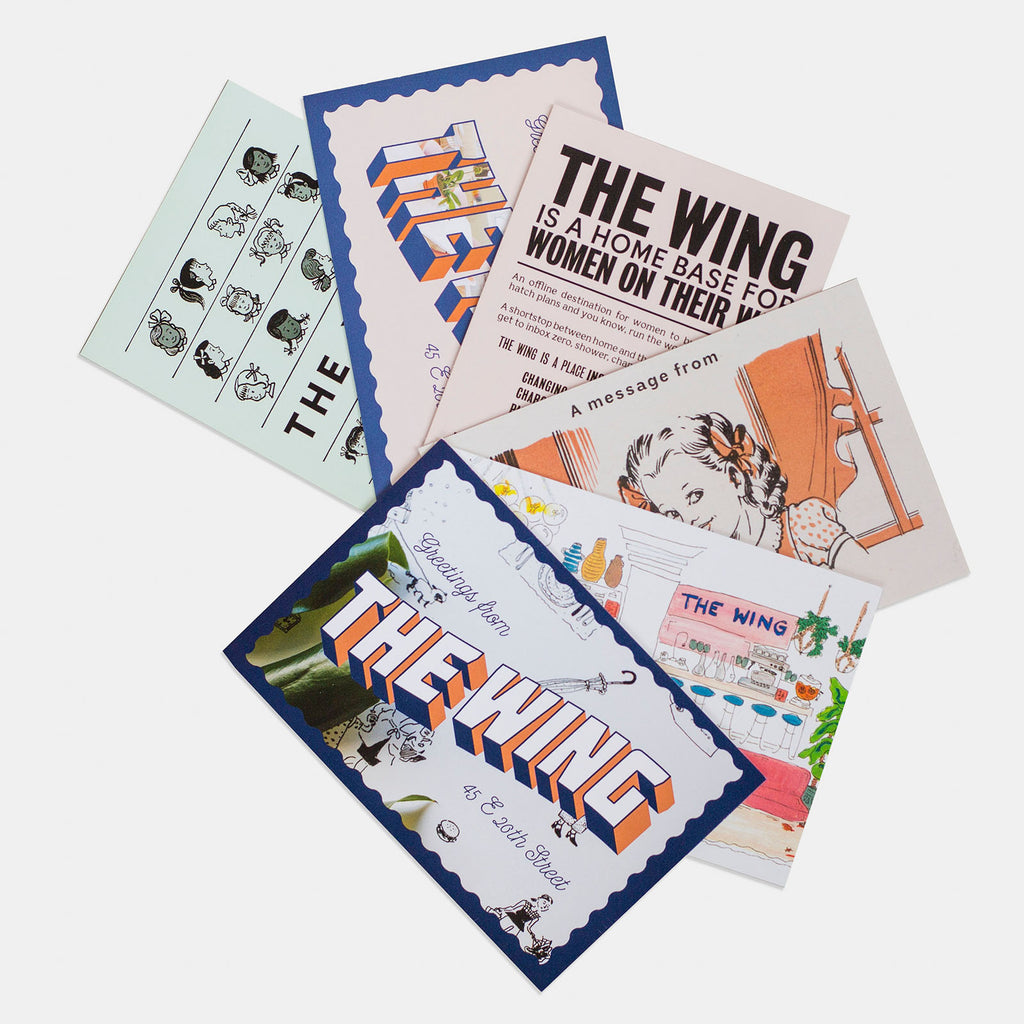The Wing Postcards