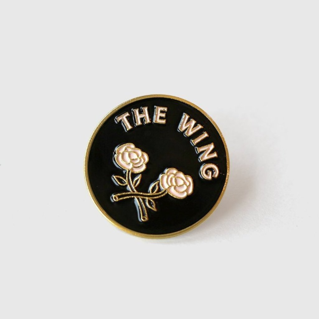 The Wing Rose Pin