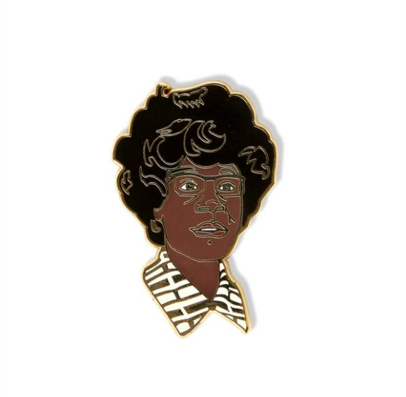 Shirley Chisolm Pin