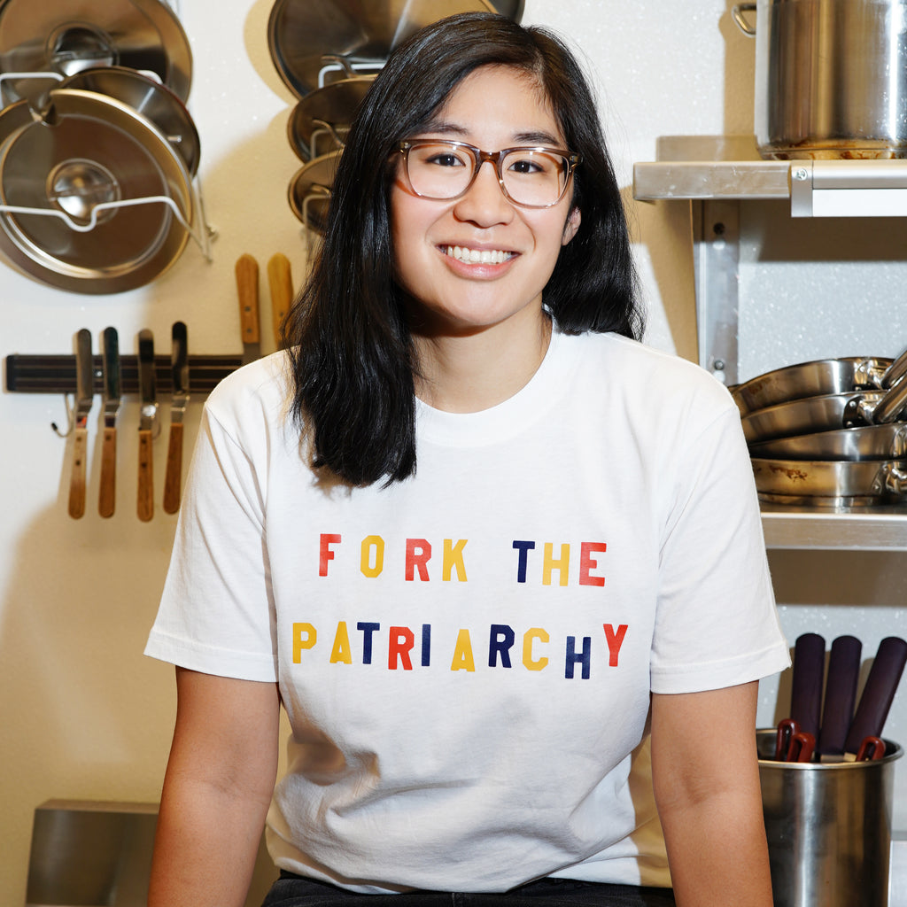 The Wing | Katie Kimmel Fork The Patriarchy Tee