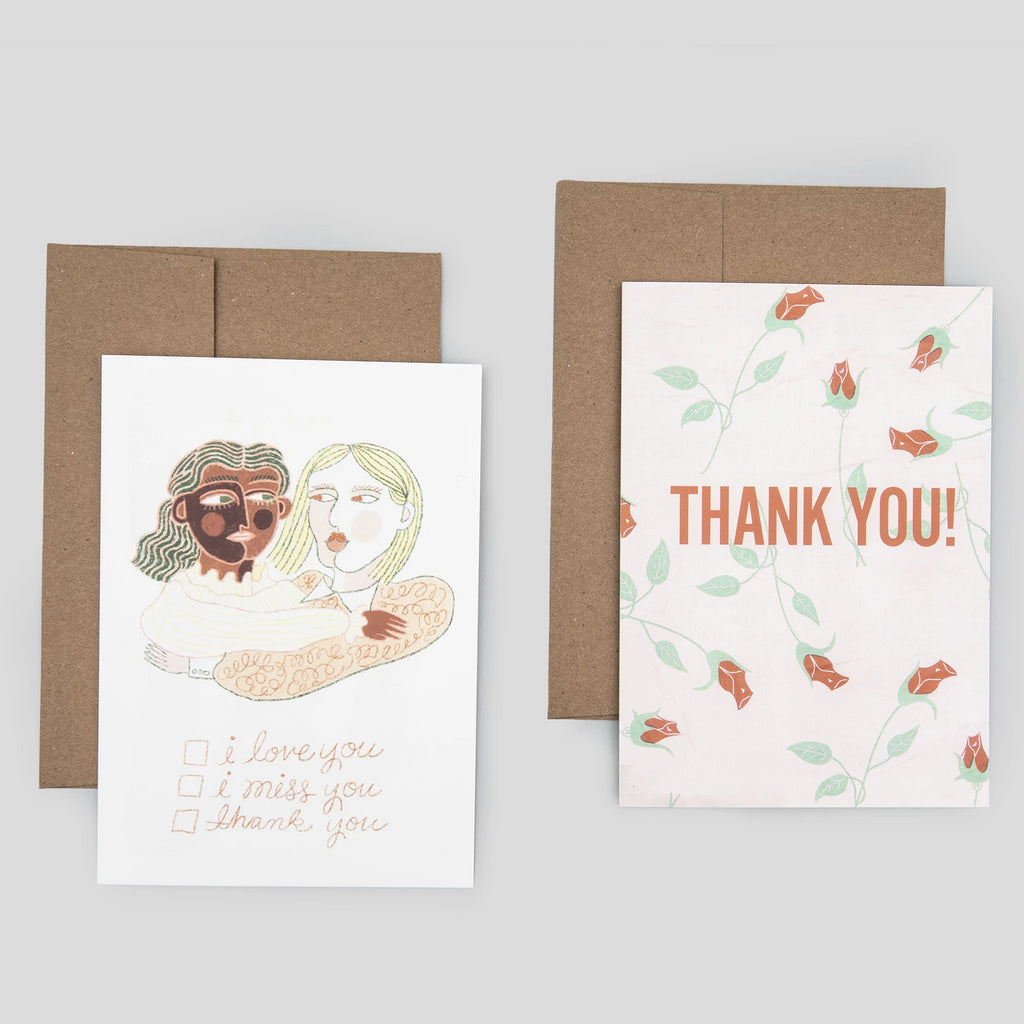 Thank You Cards (2 Pack)