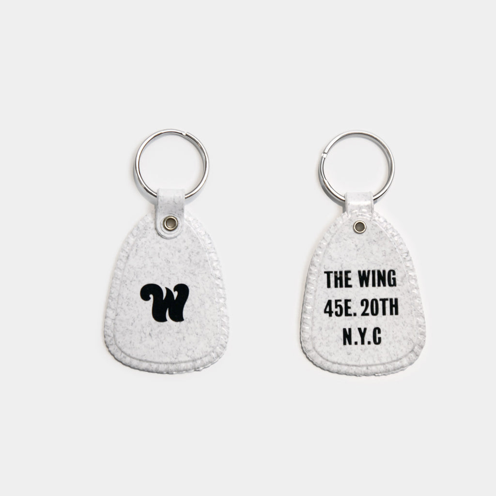 Wing Marble Keychain