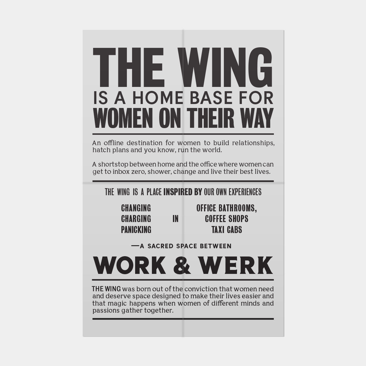 the office poster. Broadsheet Poster The Office