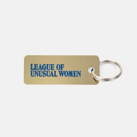 League of Unusual Women Keytag