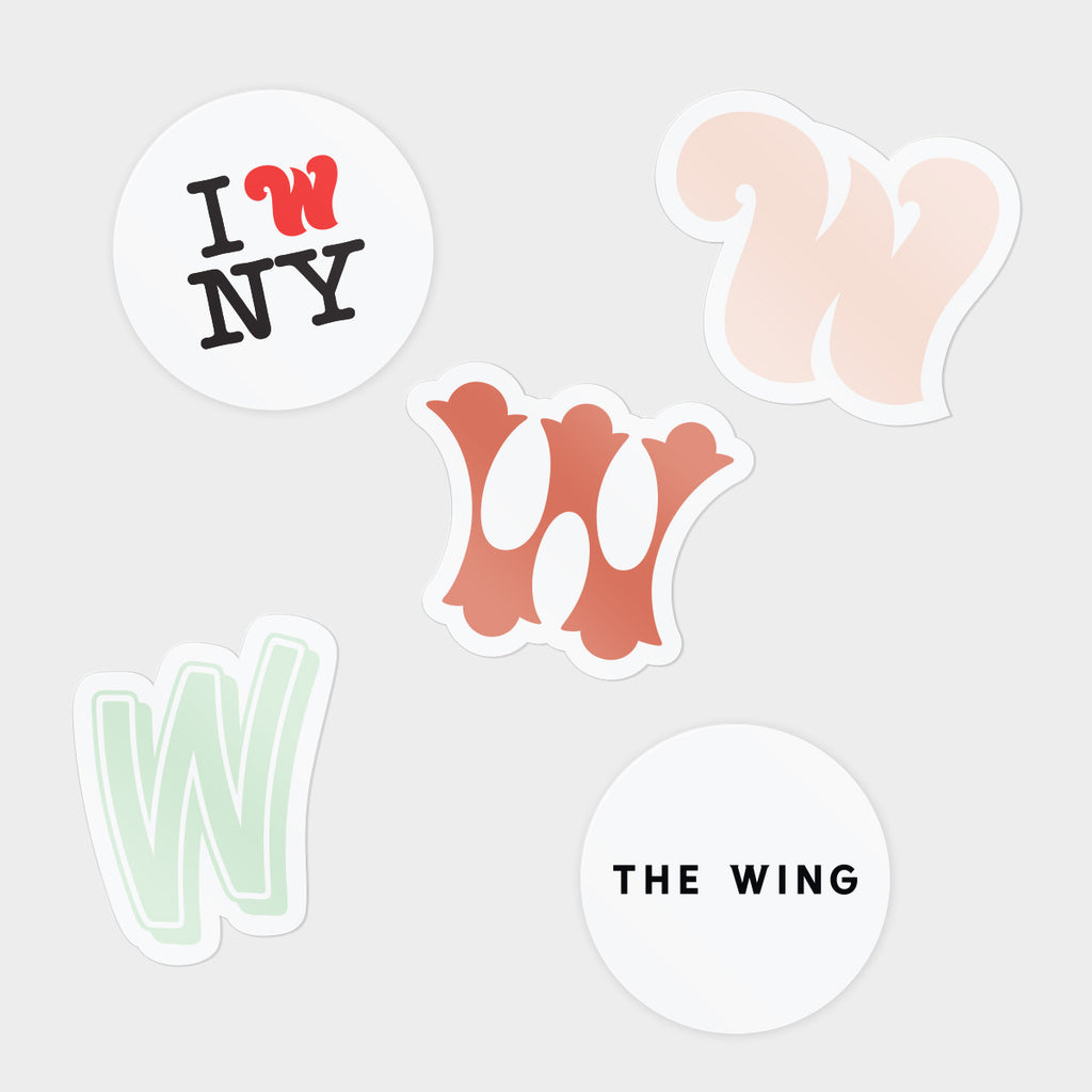 Wing Women Sticker Pack