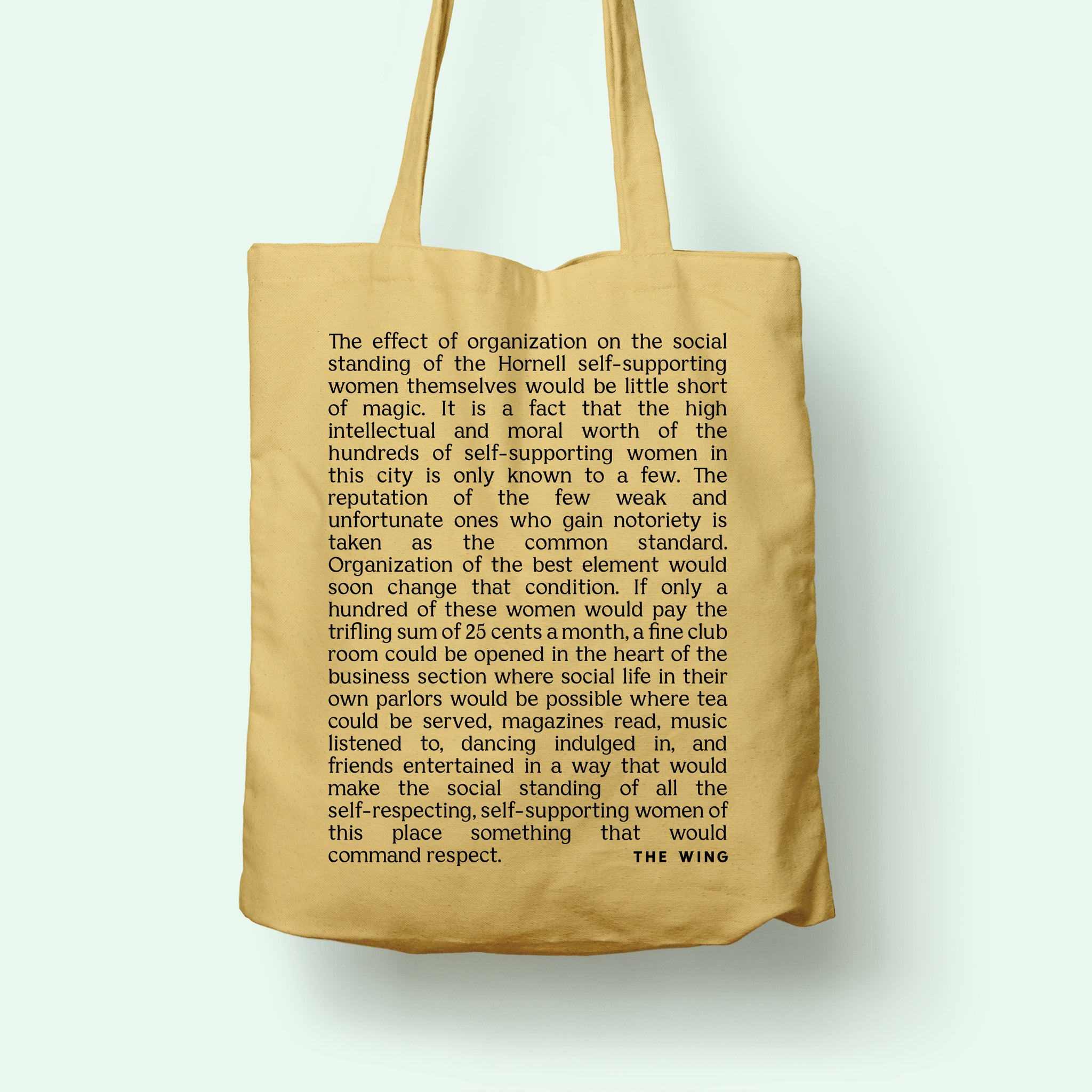 Self Supporting Tote