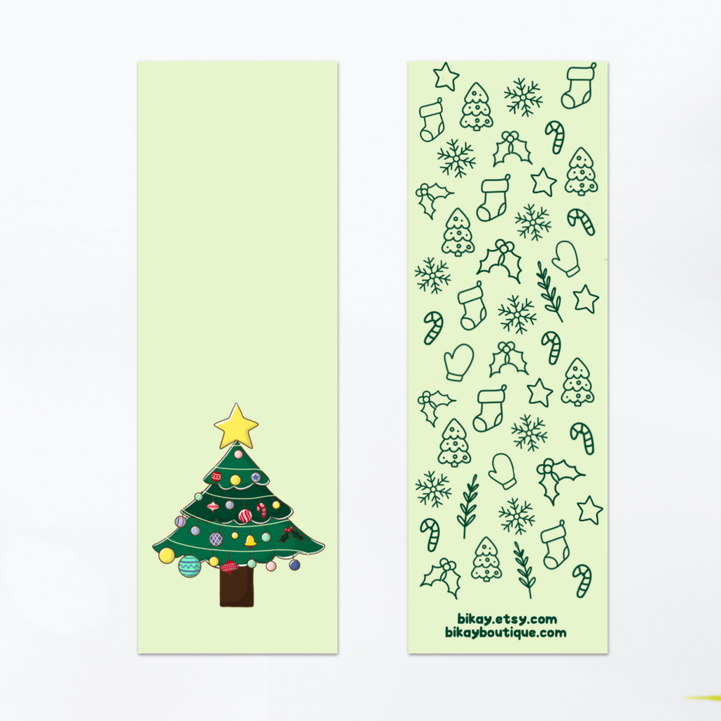 Oh Christmas Tree Bookmark