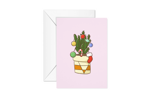 Cactus Christmas Card Pack (Set of 10 boxed cards)