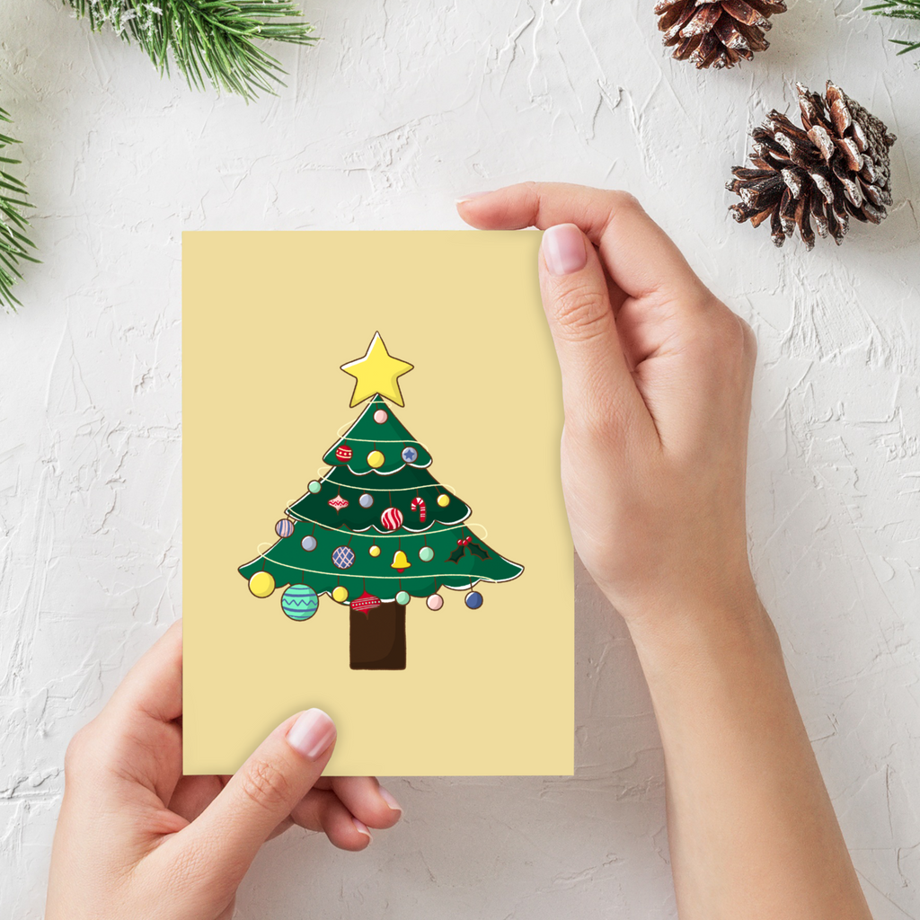 Oh Christas Tree Greeting Card (Single or Card Pack)