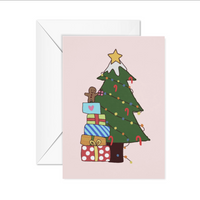 Christmas full of presents Card