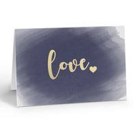 Foiled Love Card