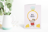 Funny engagement congratulation card