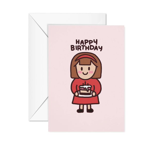 Vali Happy Birthday Card