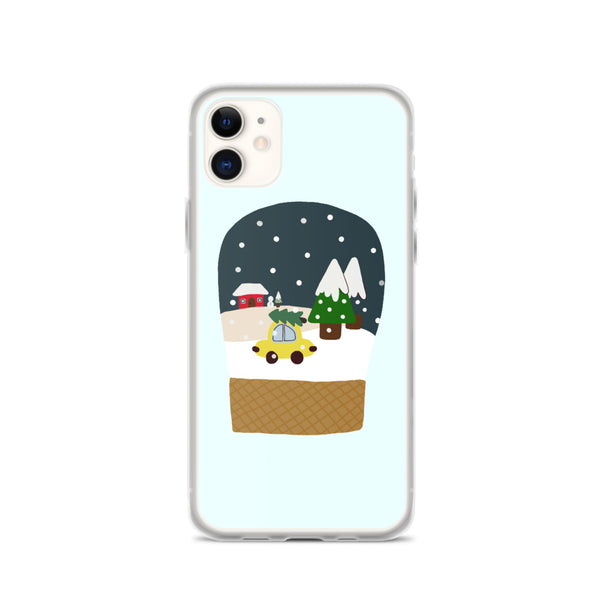 Snow globe iPhone Case