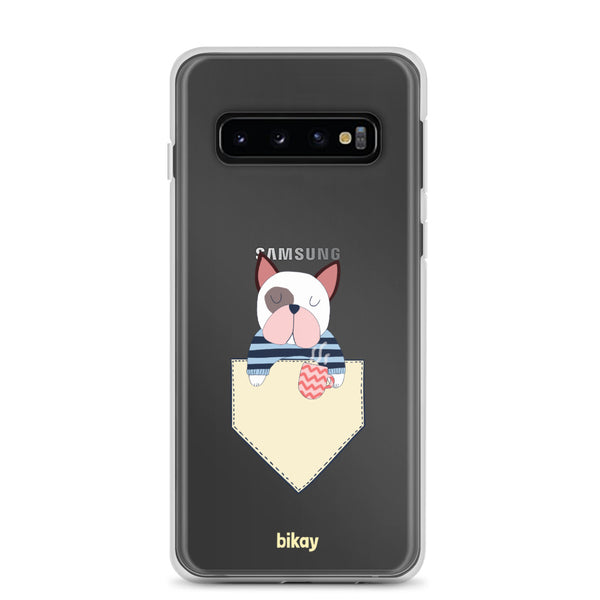 French Bulldog in a Pocket Samsung Case