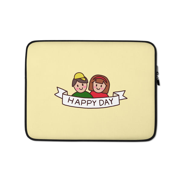 Happy Day - Laptop Sleeve